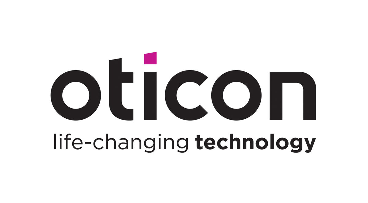 Oticon Life changing technology contour blanc