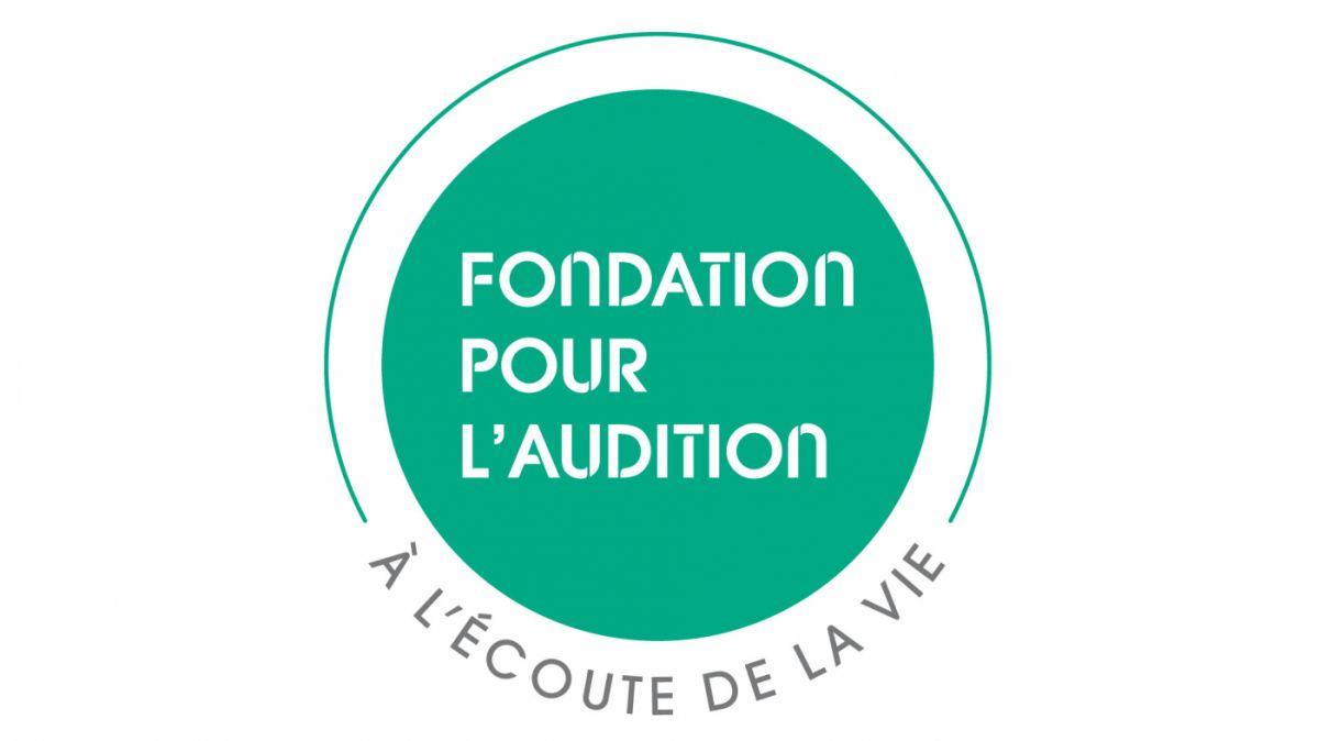 Fondation pour audition logo