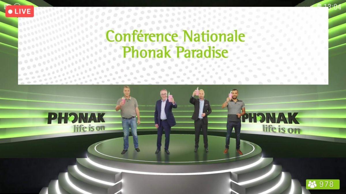 phonak paradise capture