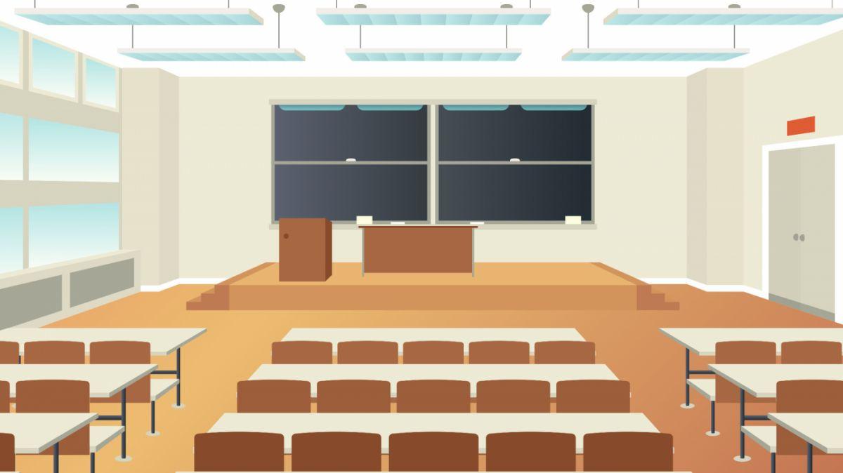 salle vide classe