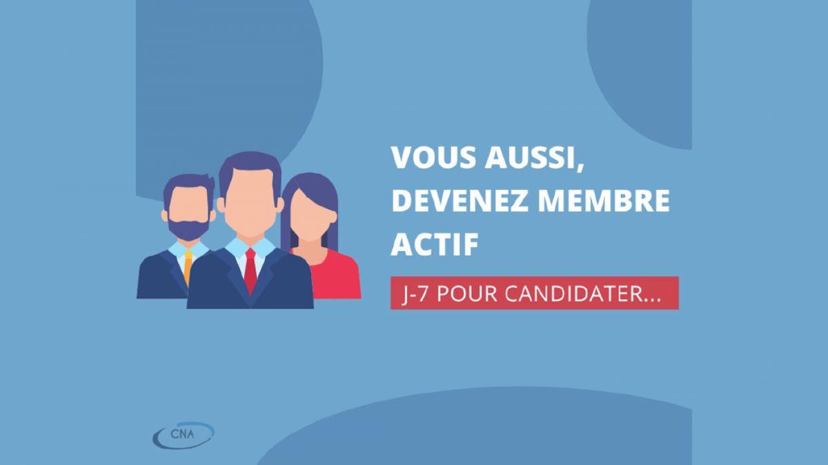Appel candidature CNA
