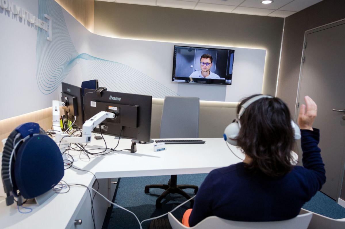 Teleaudiologie dans les centres d audition du Groupe Vyv