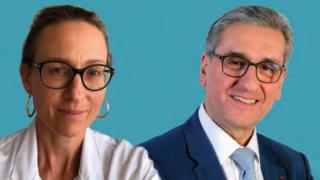 Natalie Loundon et Noel Garabedian de l Hopital Necker Enfants Malades