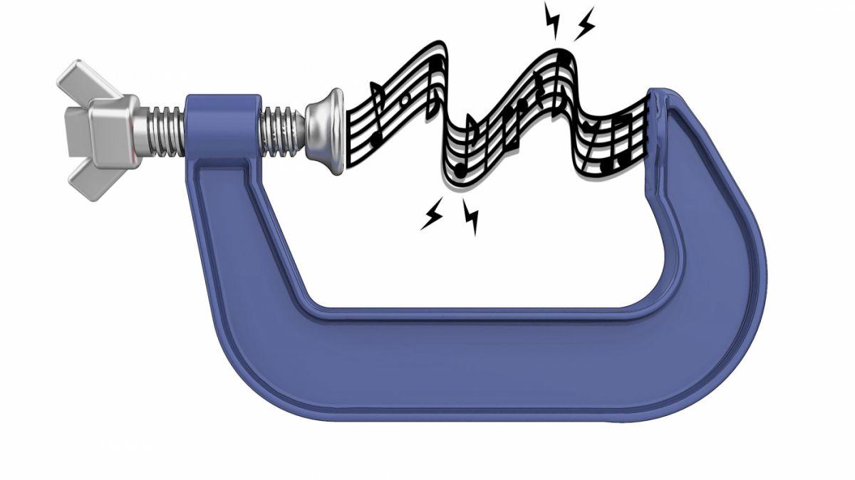 musique compressee etau